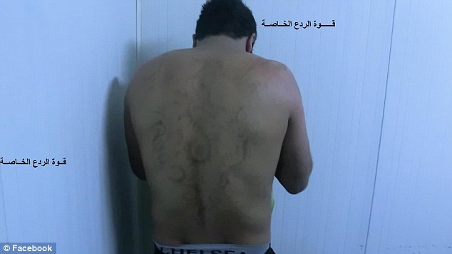 The group also posted this picture of a man's back with a henna tattoo which has received 46 likes and 30 shares
