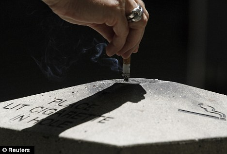 Supplied words: Tuesday's ruling finalized five different statements the companies must advertise, one of them admitting that second-hand smoking alone kills more than 3,000 Americans annually