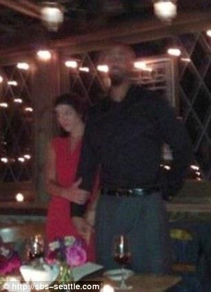 Hope Solo and Jerramy Stevens -wedding photo