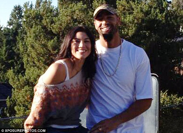 'Happy': U.S. soccer star Hope Solo has insisted she is happily married to former NFL player Jerramy Stevens, who was arrested for domestic violence just hours before their wedding