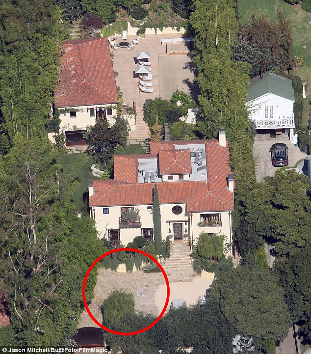 For sale: Halle Berry puts her Hollywood home on the market, including the parking space where her current and ex boyfriend recently got into a fist fight