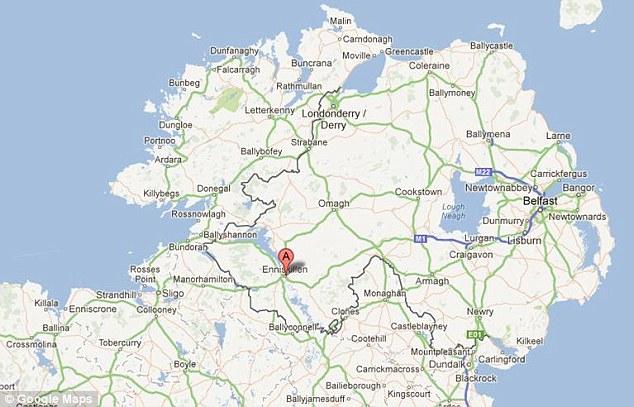 The finds were made in a dig near Enniskillen in Northern Ireland