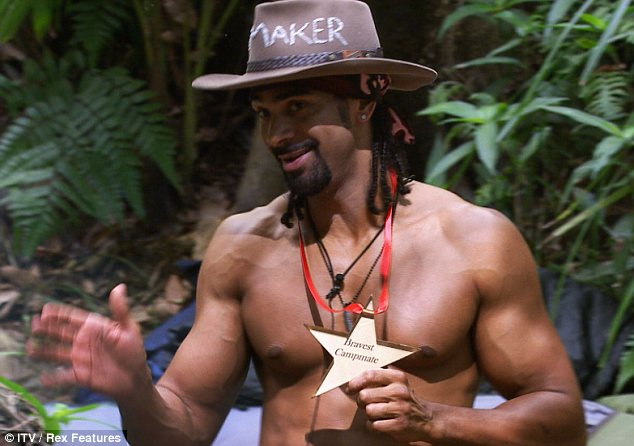 No surprises there: David won the awards for Bravest Campmate and Best Body