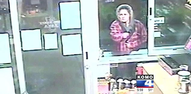 Wanted: Police are looking for a woman who has been robbing coffee shops in Washington state.