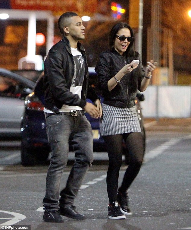 My new home! Tulisa Contostavlos was joined by boyfriend Danny Simpson as she picked up the keys to her new home in Hertfordshire