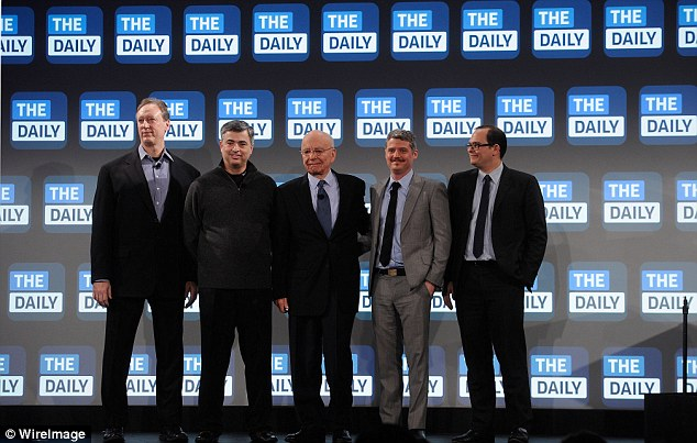 Over: The closure of The Daily, which will print its last edition on December 15, will be a huge embarrassment to Murdoch, for whom The Daily was one of his pet projects