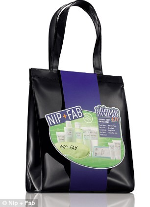 The Nip and Fab ultimate pamper kit is Sainsbury's surprise beauty Christmas gift hit