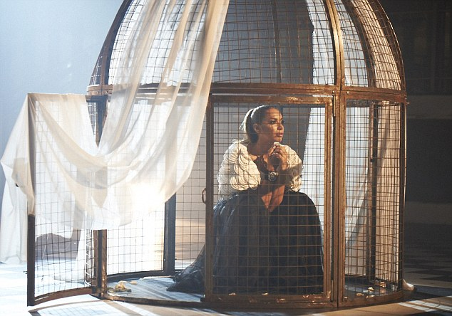 Caged: Studio bosses are reportedly disappointed with the track's poor performance