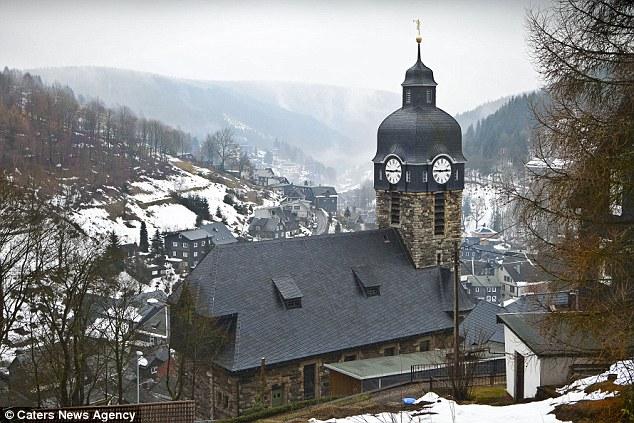 Christmas Tree Decorations Small German Mountain Village