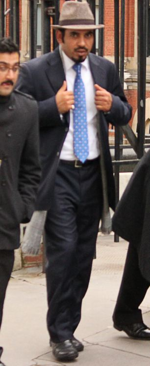 Mohammed Salim Alyami leaving the Court of Appeal after losing his bid