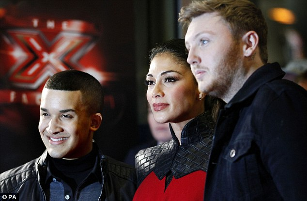 Who will be the winner? James Arthur is the supposed favourite but Jahmene looks confident