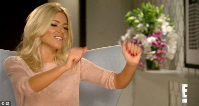 Preview: The clip for the programme shows Mollie King dancing excitedly for the cameras
