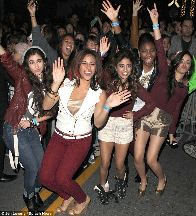 Finalist! Fifth Harmony got a big reception from the crowd