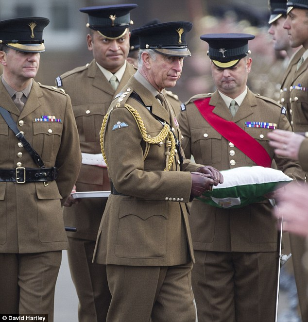 Prince Charles, who along with wife Camilla presented awards to servicemen and women, paid tribute to the unending relentless courage of the military