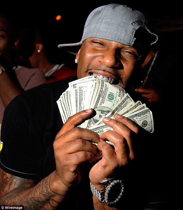 The man in question: Rapper AP.9 appears at the Gallery Nightclub at Planet Hollywood Resort & Casino on March 24, 2012