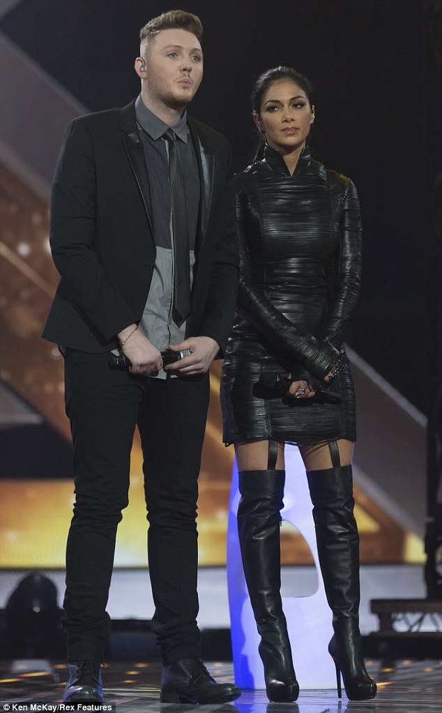 'He's a revelation': Nicole said she's very proud of James after their pitch-perfect duet