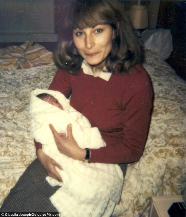 In contrast, Kate Middleton was cared for by her mother Carole, pictured together in 1982, and did not have a full-time nanny