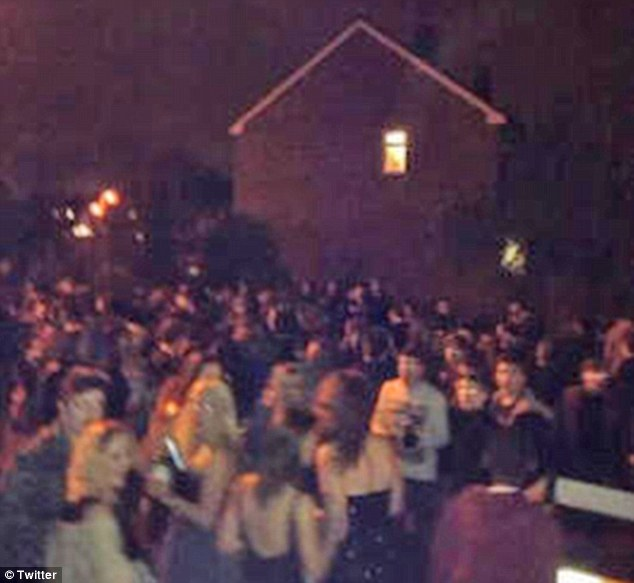 Facebook Party £30k Trail Of Destruction When 800 Descend On