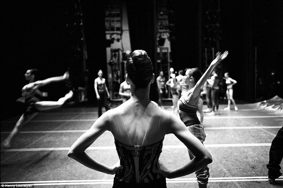 New York City Ballet Balanchine Black White