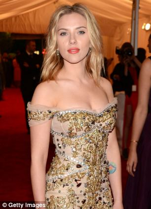Scarlett Johansson attends the