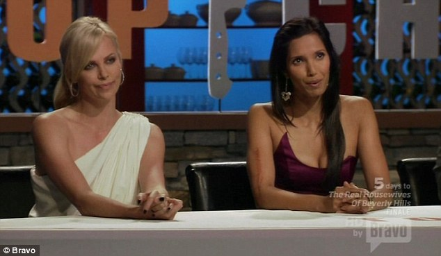 How does she do it? Padma has admitted in the past that she can gain between 10 and 15lbs during a season filming Top Chef