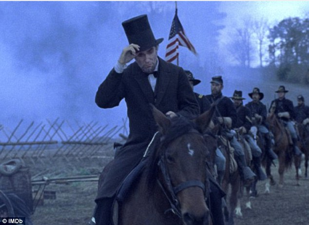 Tip your hats: Lincoln, starring Daniel Day-Lewis in the title role, topped the list with 13 nominations for Critics' Choice Movie Awards