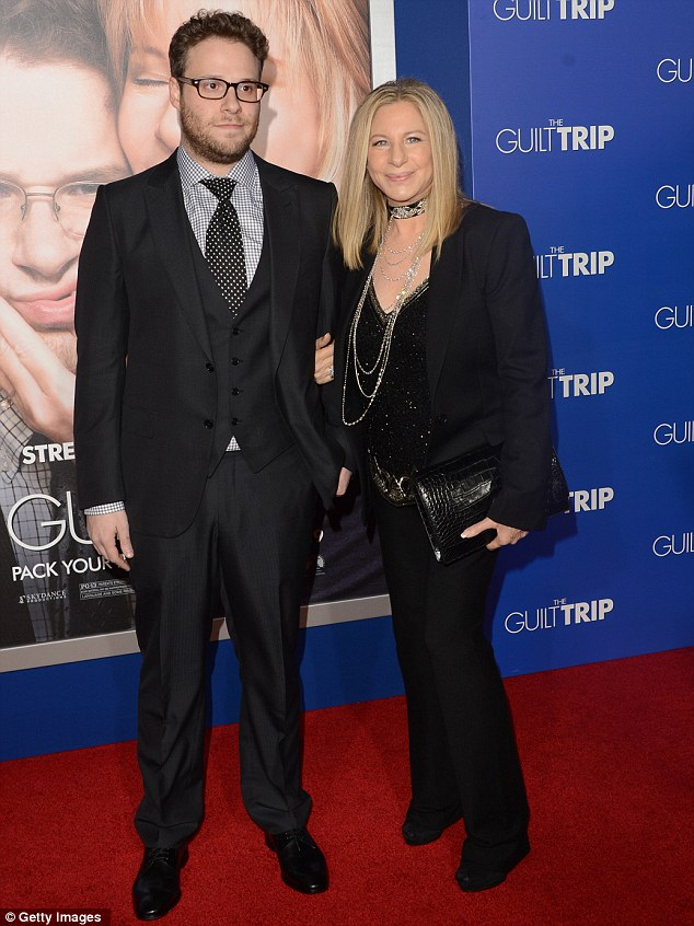 Barbra Streisand And Seth Rogen Attend The Los Angeles