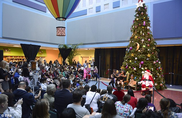 Location: The reading took place at the Children's National Medical Center in Washington