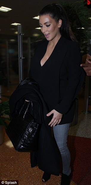 Kim Kardashian departs from Miami