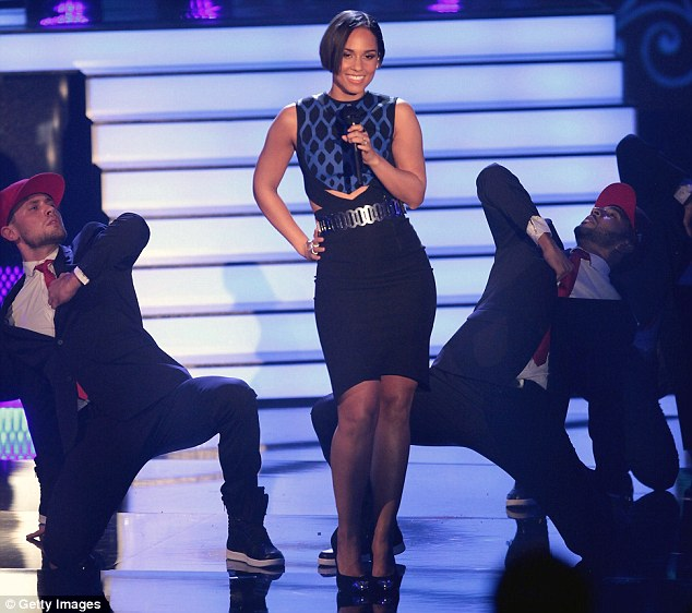 Under fire: Alicia Keys is being sued in relation to her track Girl On Fire