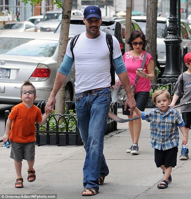 Doting Dad Martin Will Have Plenty Of Room For His Family Economist Boyfriend
