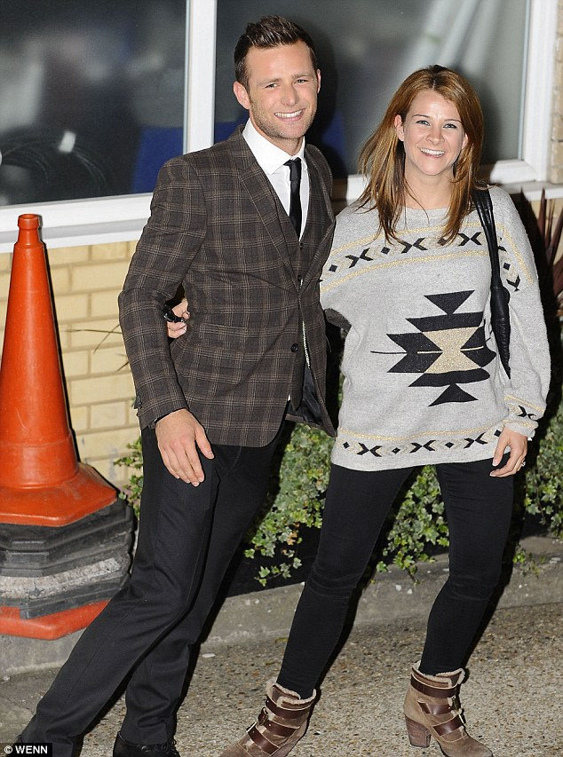 Just married: McFly's Harry Judd tied the knot with long-term girlfriend Izzy Johnston on Friday