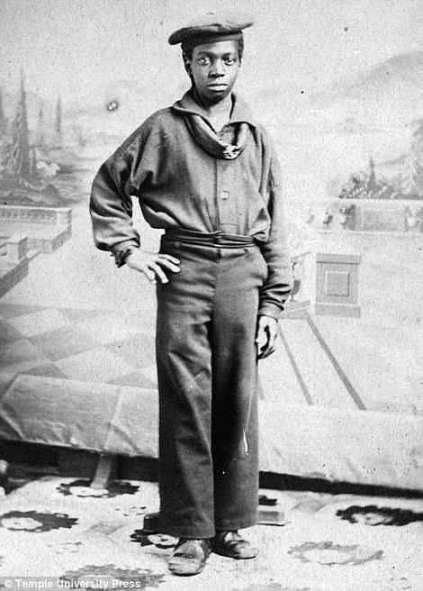 Studio portrait of an African American sailor c. 1861 - 1865