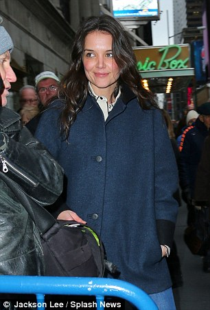 Six months single: Katie Holmes and Cruise divorced half a year ago and the former Dawson's Creek star has not been linked to any one else yet