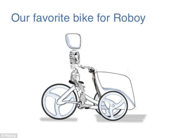 The team is even considering a tricycle for Roboy so it can carry heavy objects more easily