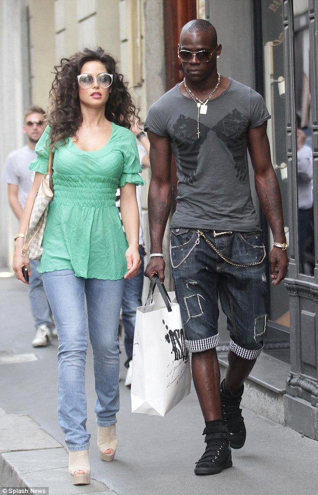 Enough: Mario Balotelli has called in lawyers to sue his ex-girlfriend Raffaella Fico for accusing him of not caring for his daughter
