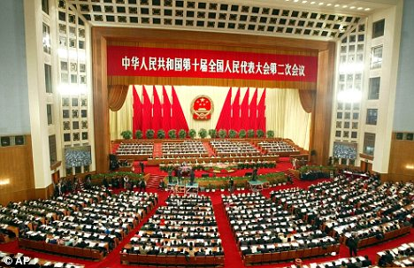 Decision: The ruling was made by the Chinese rubber-stamp legislature