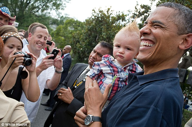Obama's favorite pix from 2012