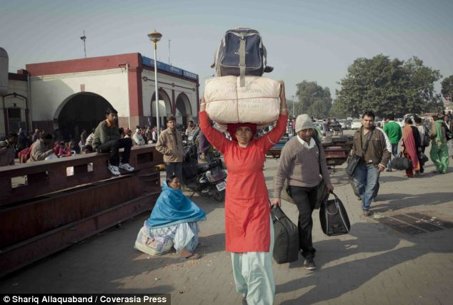 Porters must pass strenuous physical tests before being given a license