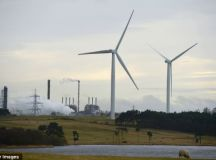 Wind turbines 'last for half as long as previously thought ...