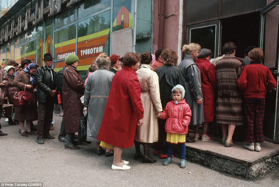 Image result for image of soviet food lines