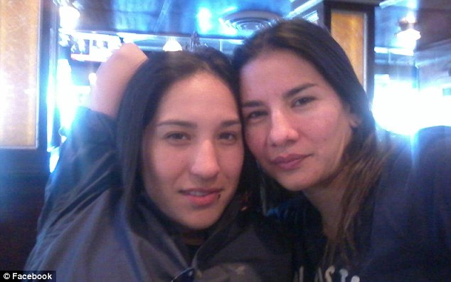 Dead: Belinda Espinoza, 29, right, shot partner 24-year-old Ana Flores, left, before turning in the gun on herself at the couple's home in the 8700 block of Wiggins Street in Houston