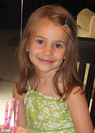 This photo provided by the Wyatt family shows Allison Wyatt. Wyatt, 6, was killed Friday, Dec. 14, 2012, when a gunman opened fire at Sandy Hook elementary school in Newtown, Conn., killing 26 children and adults at the school.