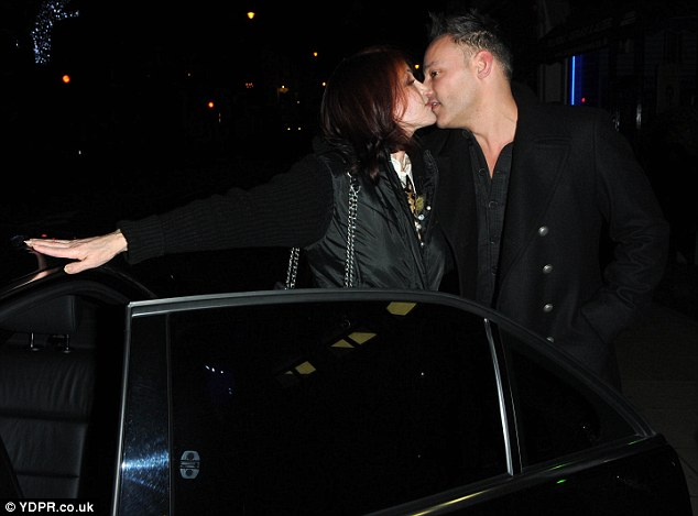 Can't Help Falling In Love? Toby Anstis and Priscilla Presley are rumoured to be dating after they were spotted sharing a kiss outside a restaurant in Wimbledon, south-west London, earlier this week