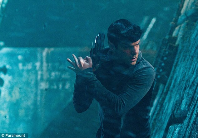 Half martian: Zachary Quinto makes a mean Spock