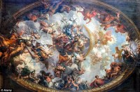 About time you painted that ceiling: London's Royal Naval
