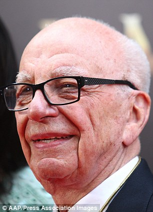 Taking a stand: Rupert Murdoch tweeted about article which claims carbon dioxide is actually making the planet greener