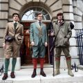 Tailors showcase outfits of the 1920s at london menswear fashion week