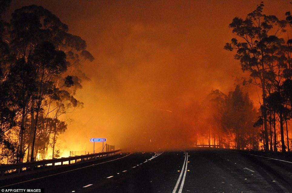 Wild Fire Australia.
