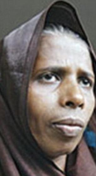 Rizana Nafeek's mother